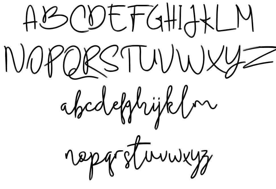Budhayanti Script 字形