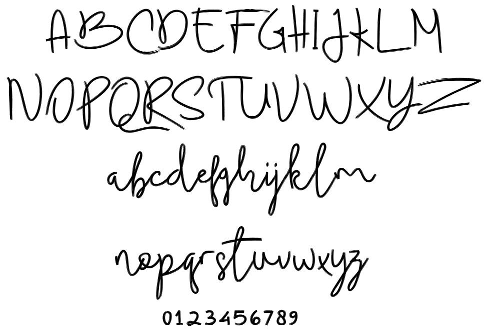 Budhayanti Script font