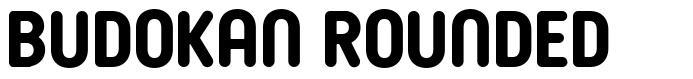 Budokan Rounded font