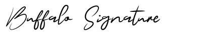 Buffalo Signature