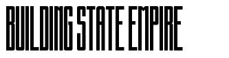 Building State Empire font