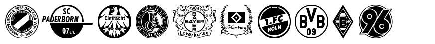 Bundesliga font