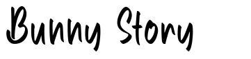 Bunny Story fonte