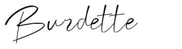 Burdette
