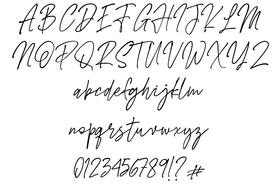 Bustercall font