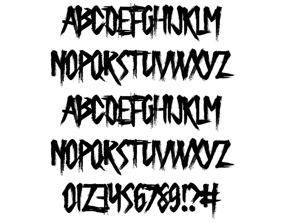 Butcher the Baker font