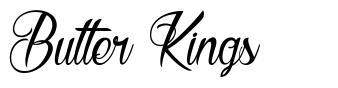Butter Kings 字形