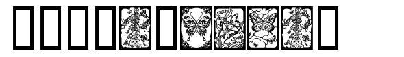 Butterflies 字形