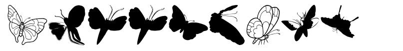 ButterFly フォント