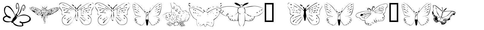 Butterfly Heaven schriftart