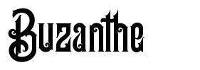 Buzanthe フォント
