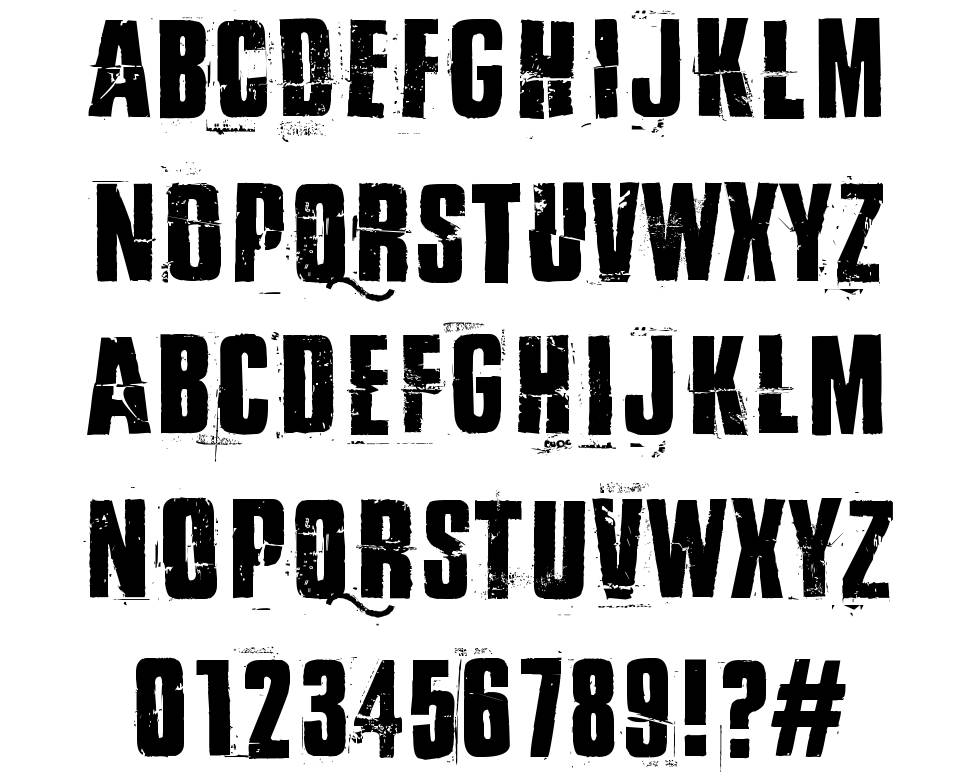 By the way font