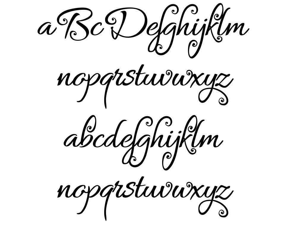 Bykars font
