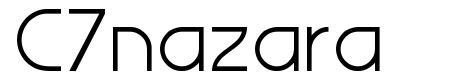 C7nazara font