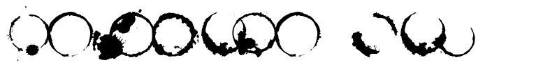 Cafeina Dig font