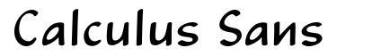Calculus Sans