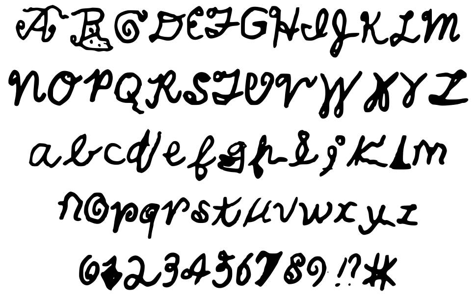 Image Gallery handwritten cool writing fonts