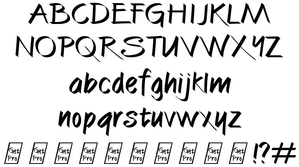 Cali Brush font