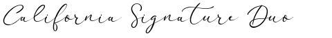 California Signature Duo