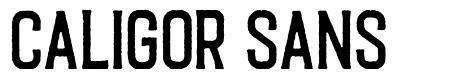 Caligor Sans