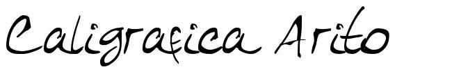 Caligrafica Arito font
