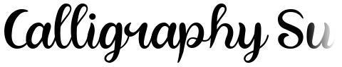 Calligraphy Sunshine