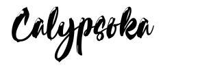 Calypsoka font