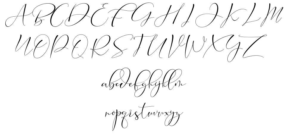 Cameliya Stark font