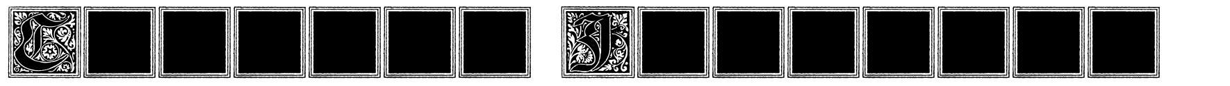 Camelot Initials fonte
