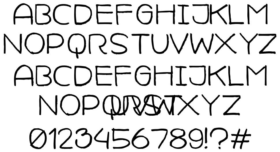 Camille Javal font