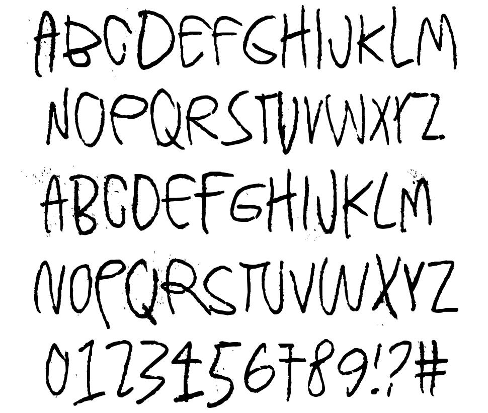 Can you ever see a whole circle font