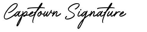 Capetown Signature