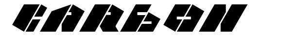 Carbon font