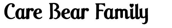 Care Bear Family font