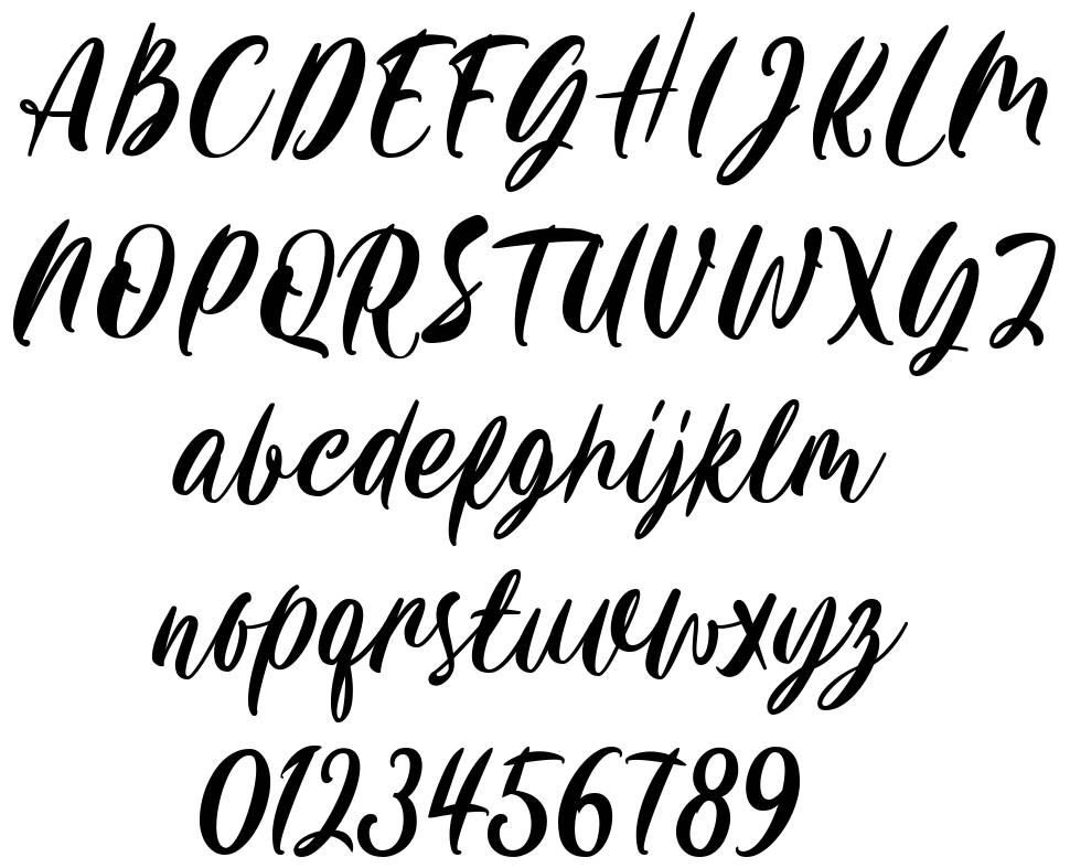 Carily font