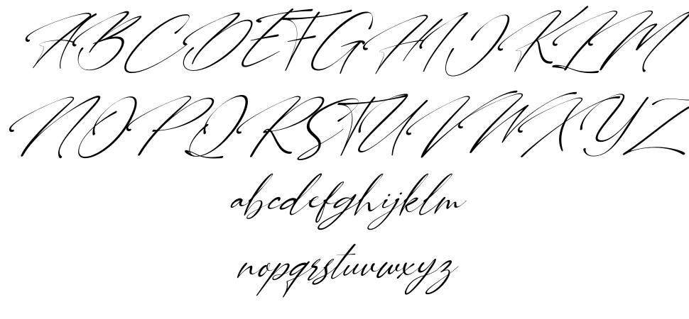 Carllitos font