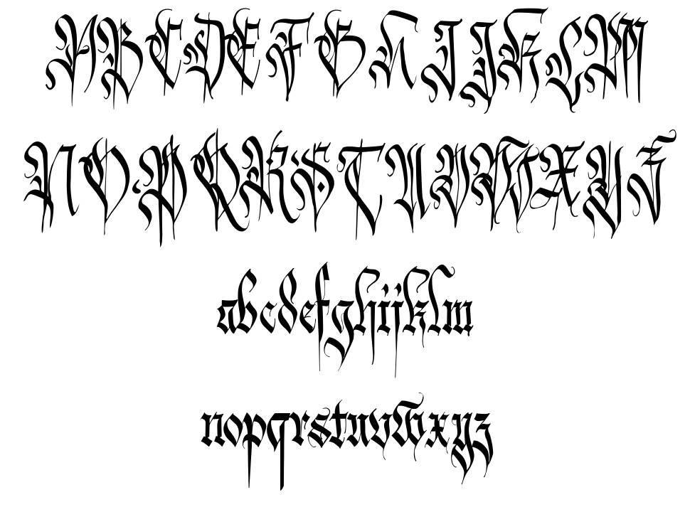 Carmilia font