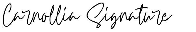 Carnollia Signature