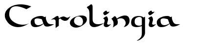 Carolingia 字形
