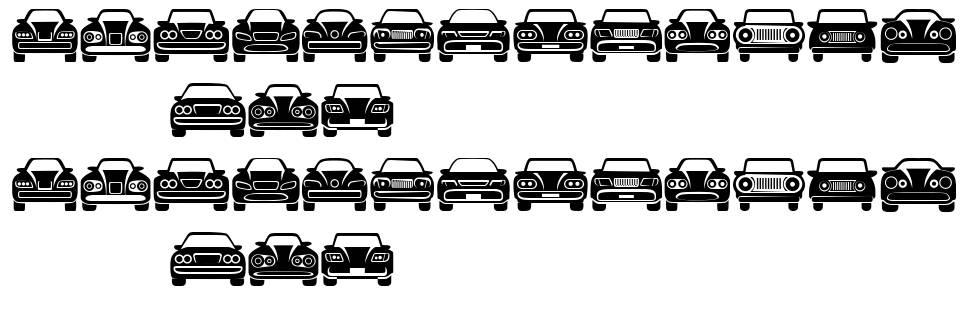 Cars fonte
