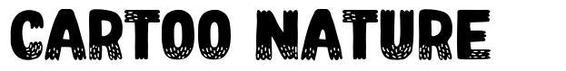 Cartoo Nature font