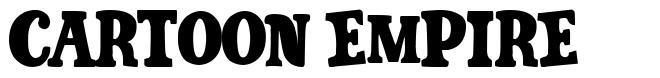 Cartoon Empire font