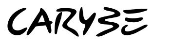 Carybe font