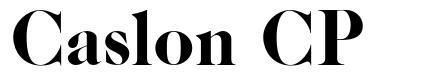 Caslon CP font