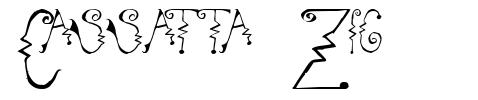 Cassatta Zig font