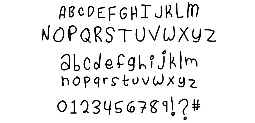 Cassidy Loves You font