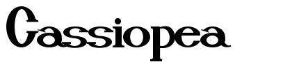 Cassiopea font