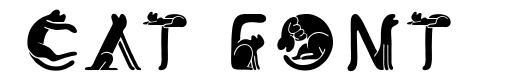 Cat Font font