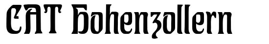 CAT Hohenzollern font