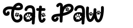 Cat Paw czcionkę